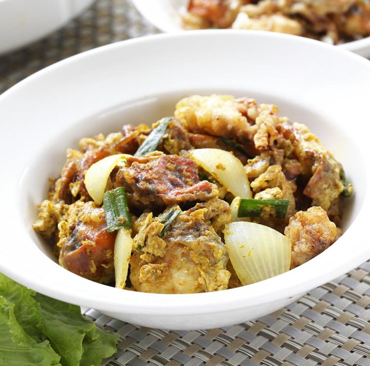 食譜:泰式咖哩蟹
