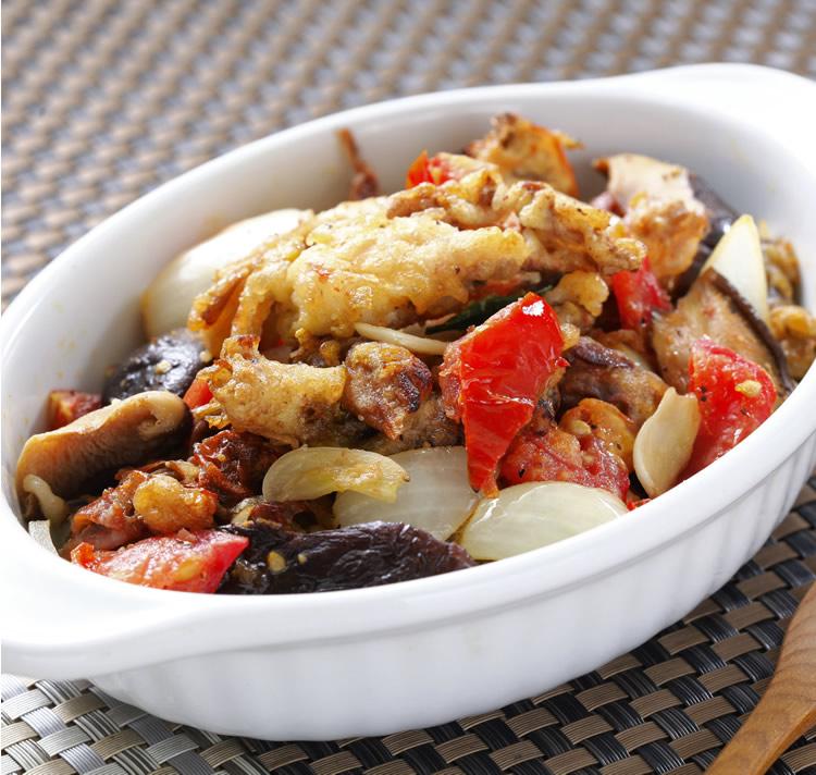 食譜:奶油焗蟹