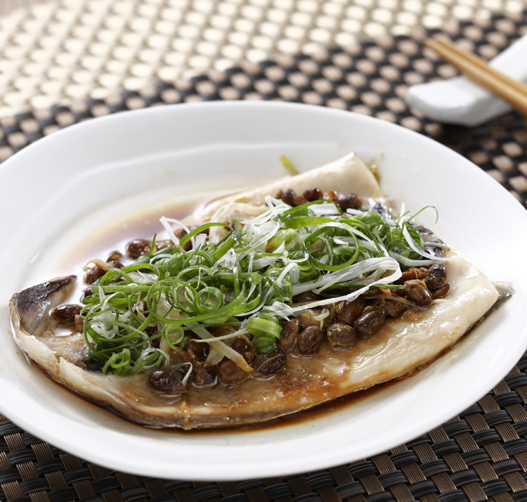 食譜:電鍋蒸虱目魚