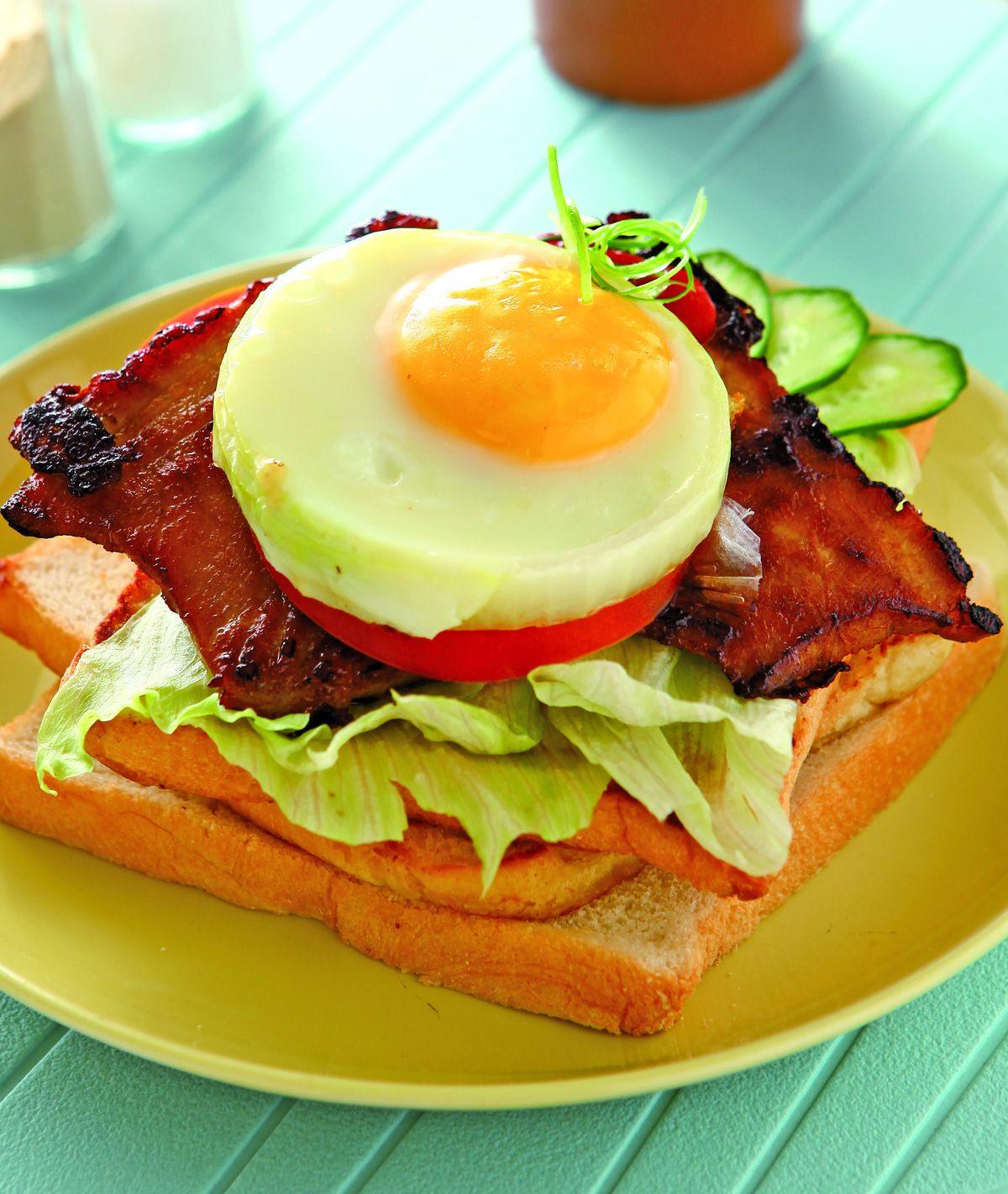 食譜:烤肉三明治