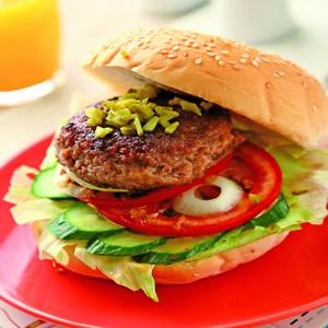 牛肉經典漢堡