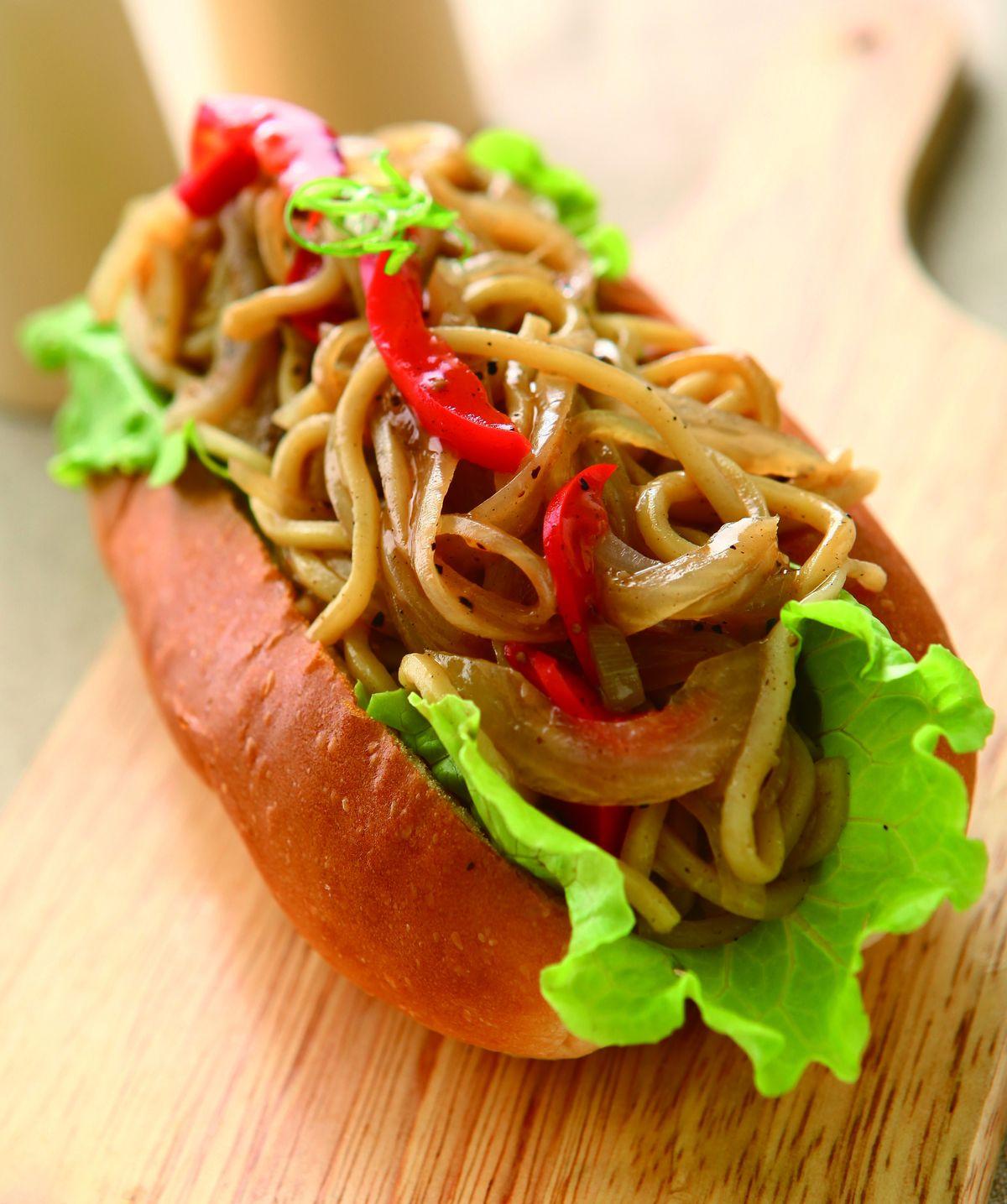 食譜:大亨堡燒麵