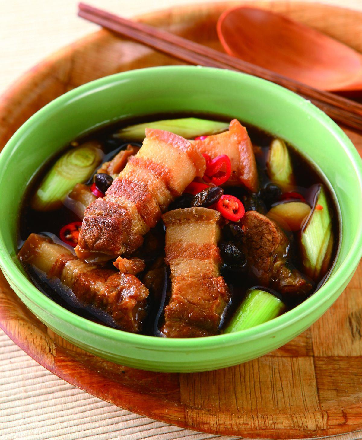 食譜:豆豉滷肉