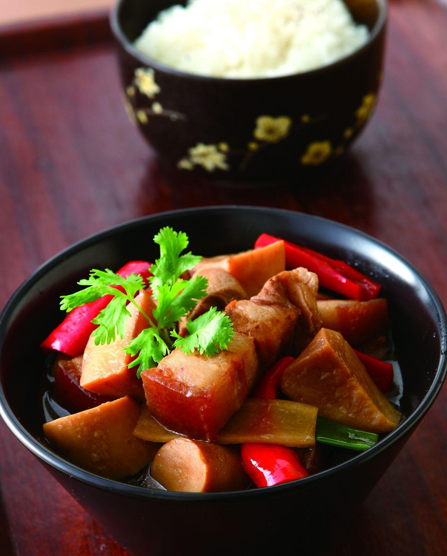 食譜:鮑菇滷肉