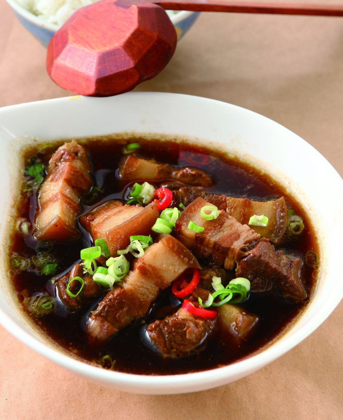 食譜:豆醬滷肉