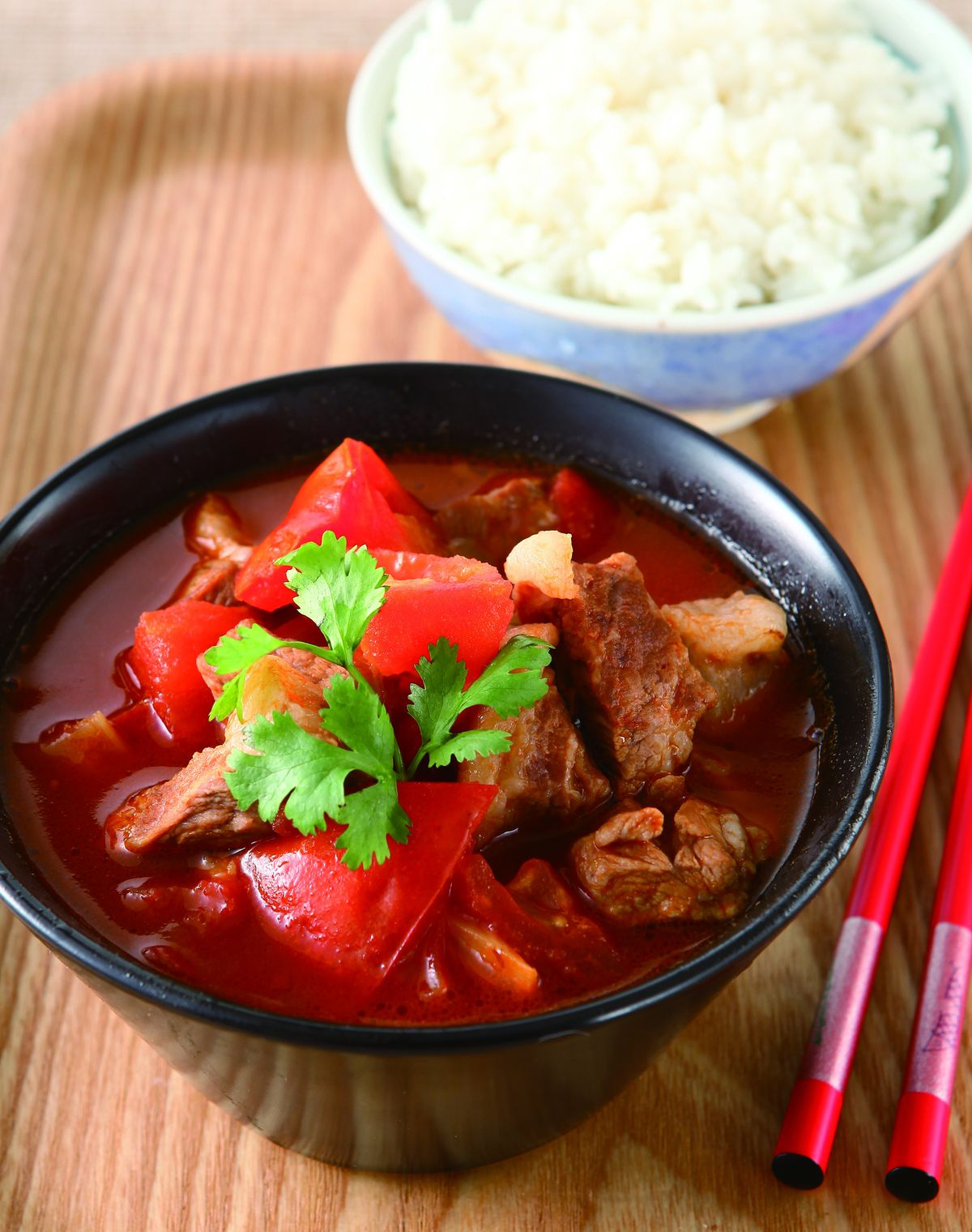 食譜:蕃茄滷肉(1)