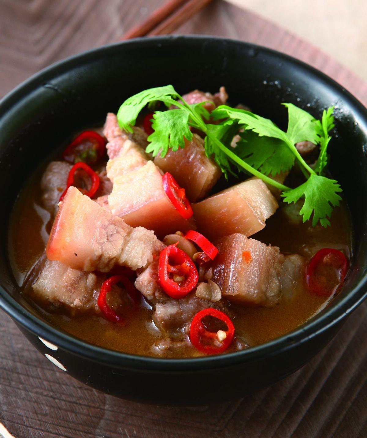 食譜:蝦醬燒肉(1)