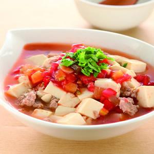 茄汁拌豆腐