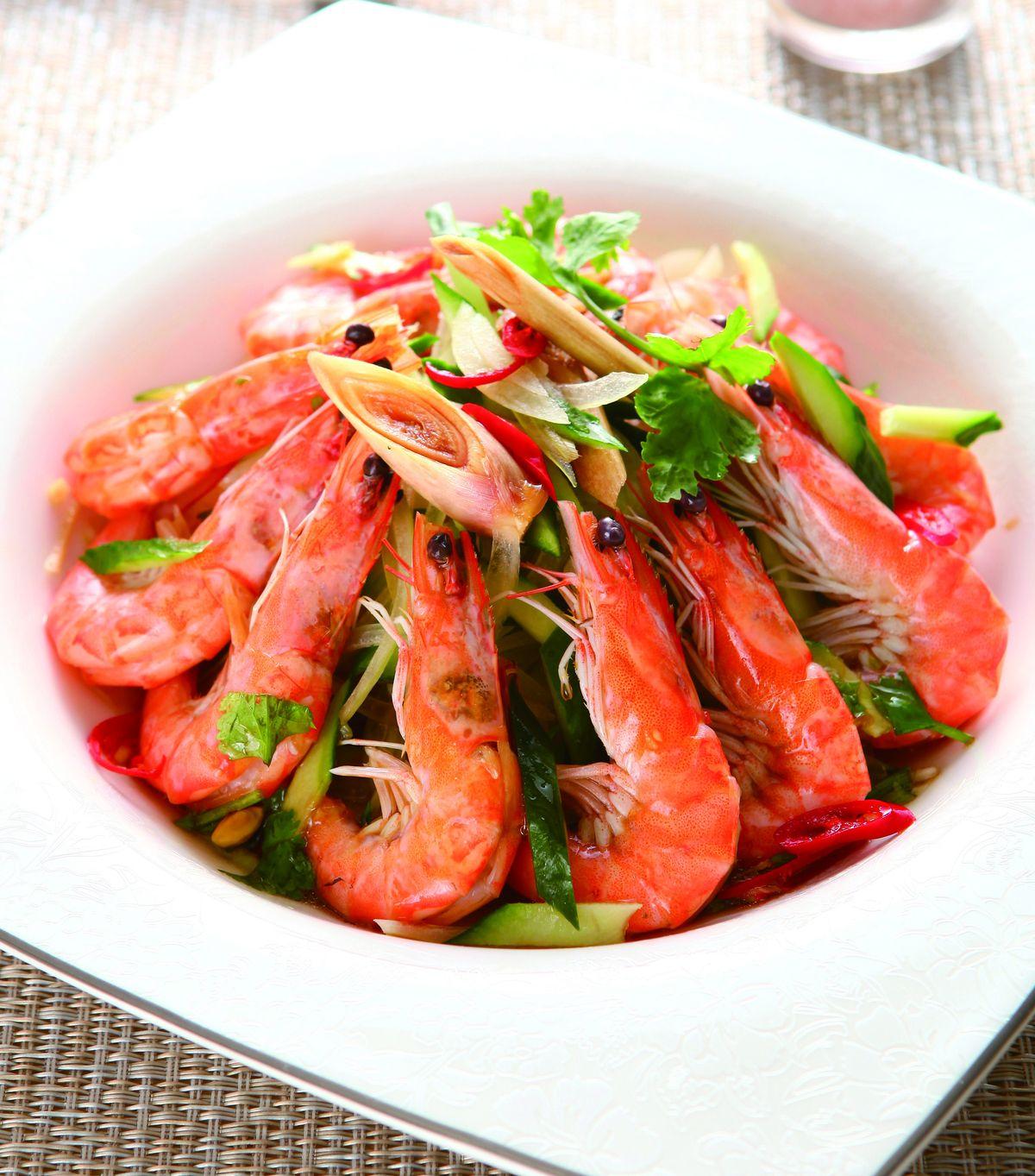 食譜:泰式酸辣蝦