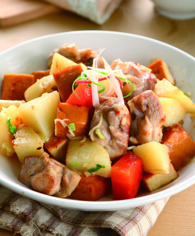 食譜:腐乳豆乾雞