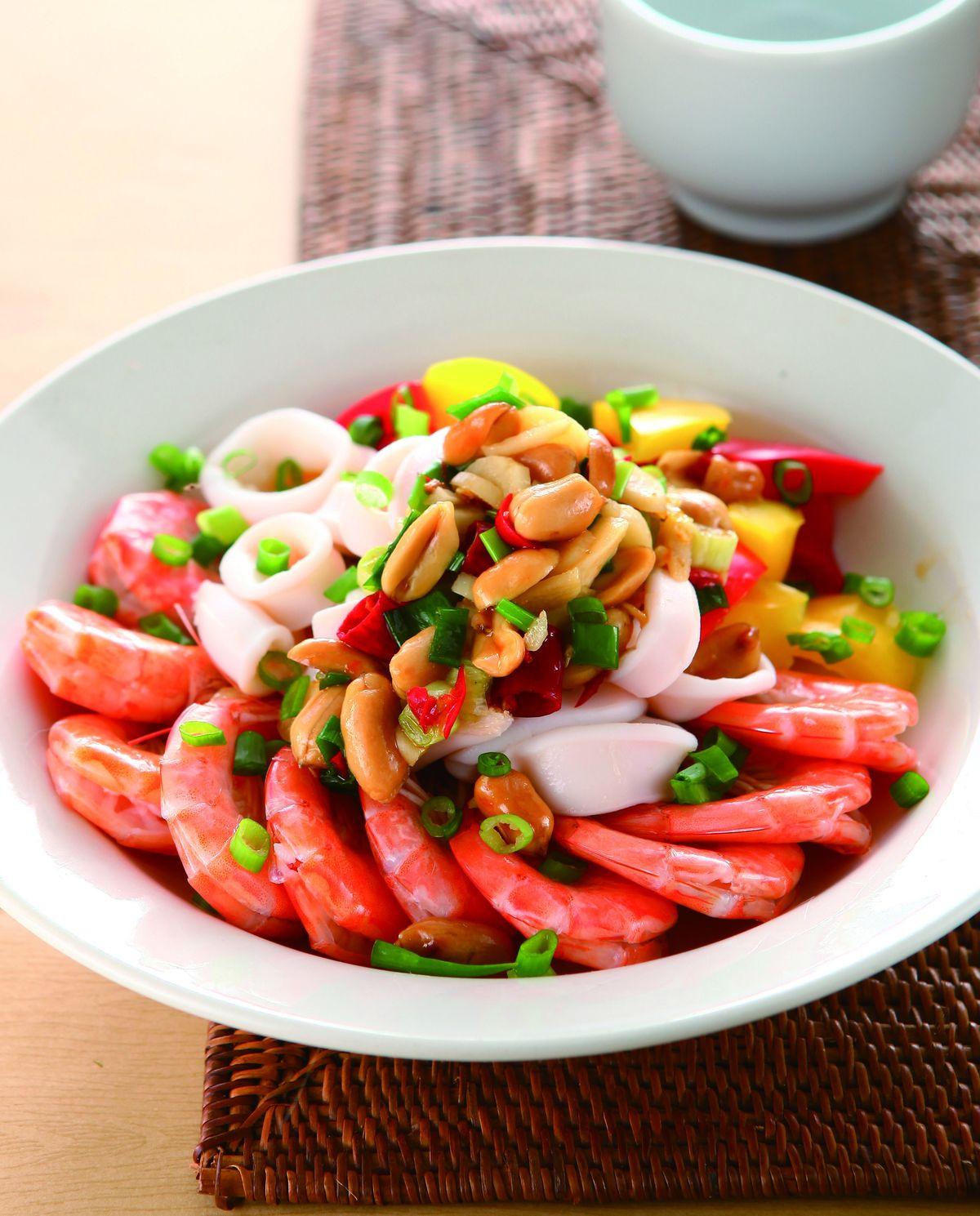 食譜:椒麻拌雙鮮