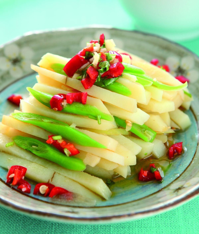 食譜:辣味土豆絲
