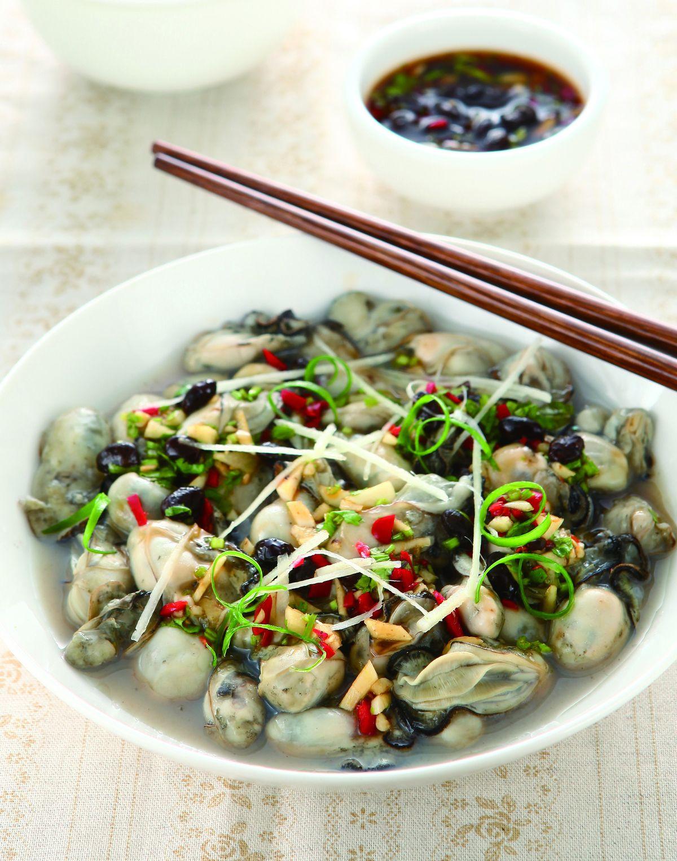 食譜:豆鼓淋鮮蚵