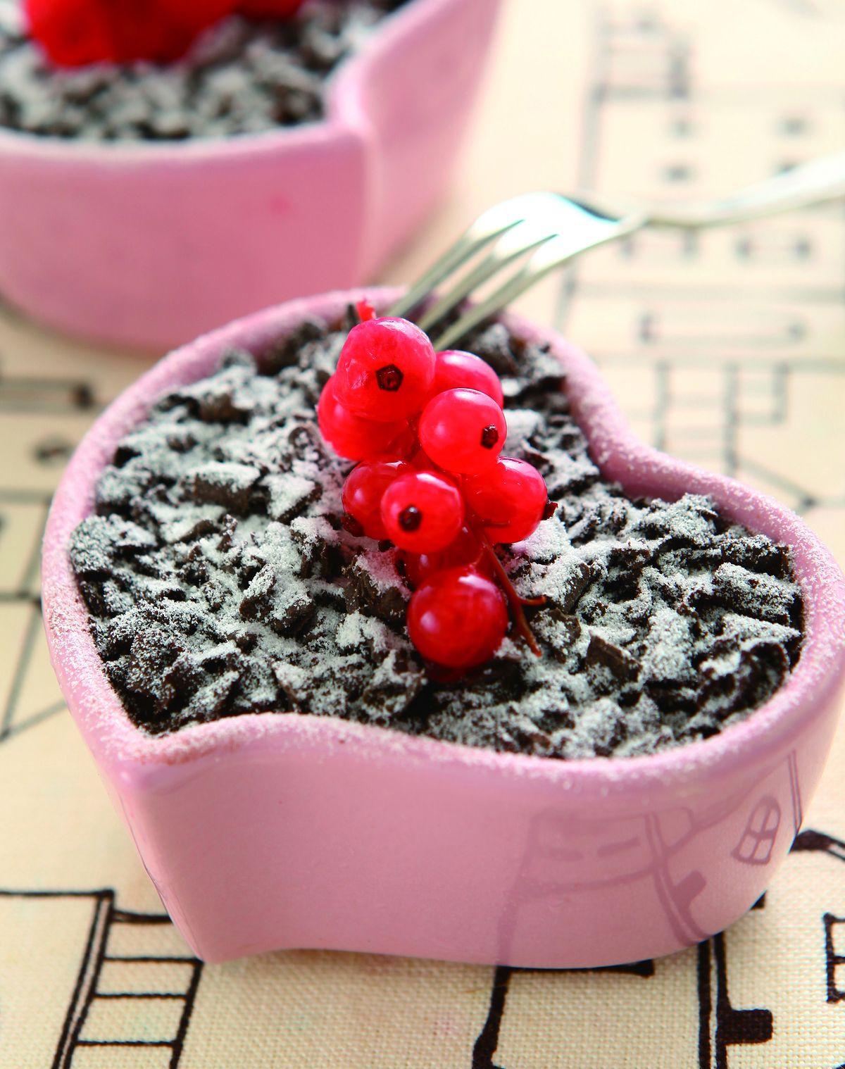 食譜:巧克力烤布丁