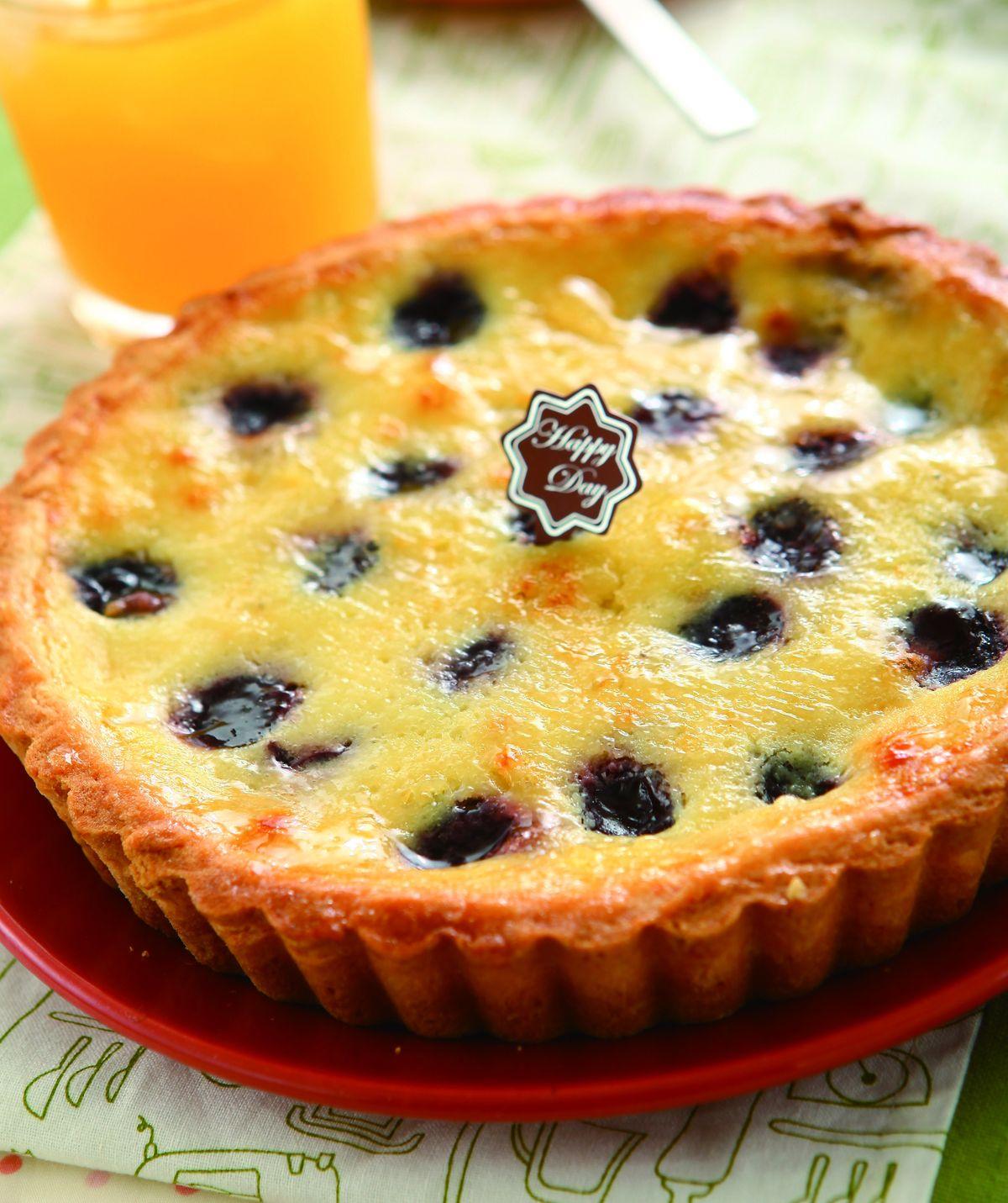 食譜:黑櫻桃布蕾派
