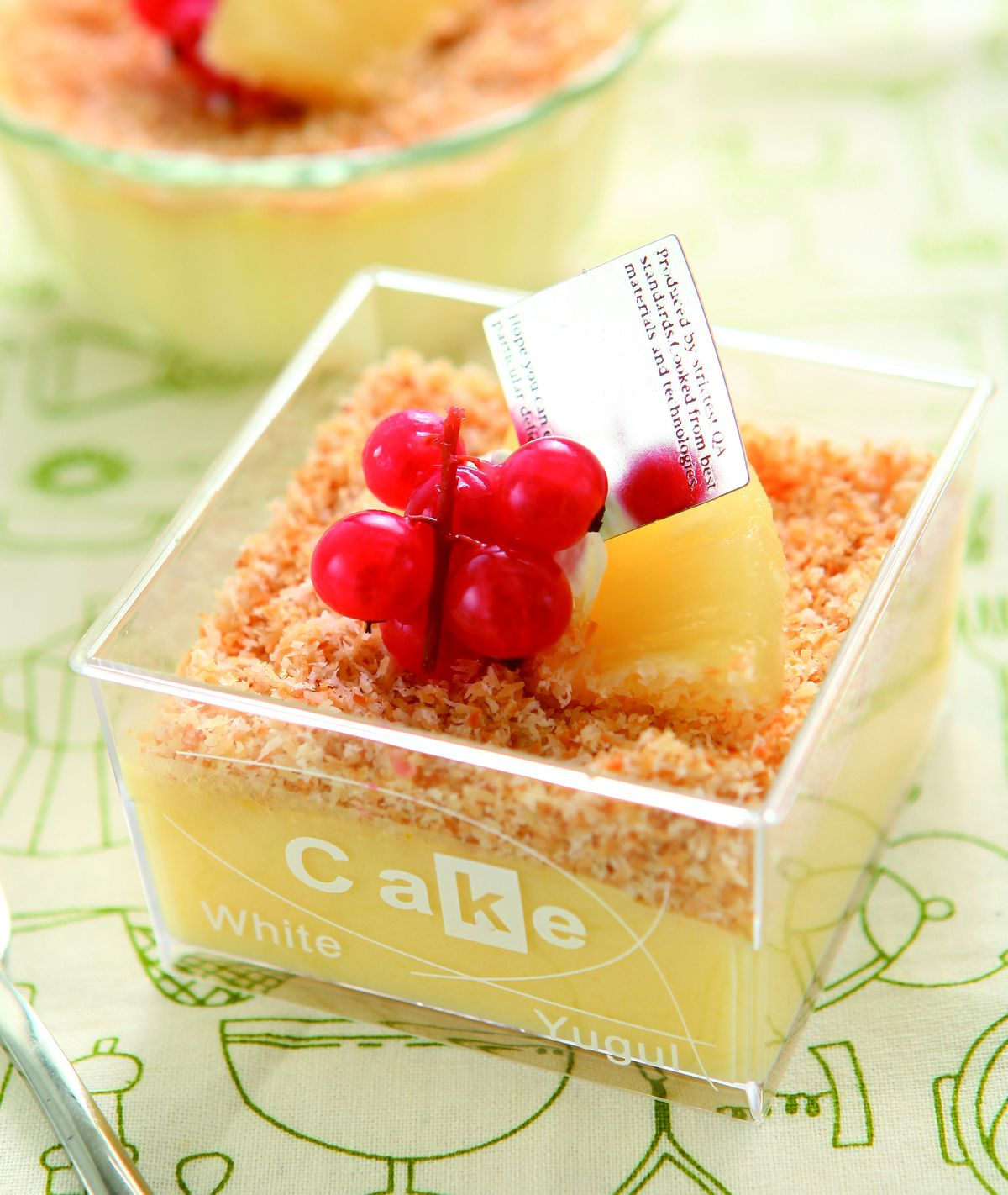食譜:鳳梨椰奶布丁