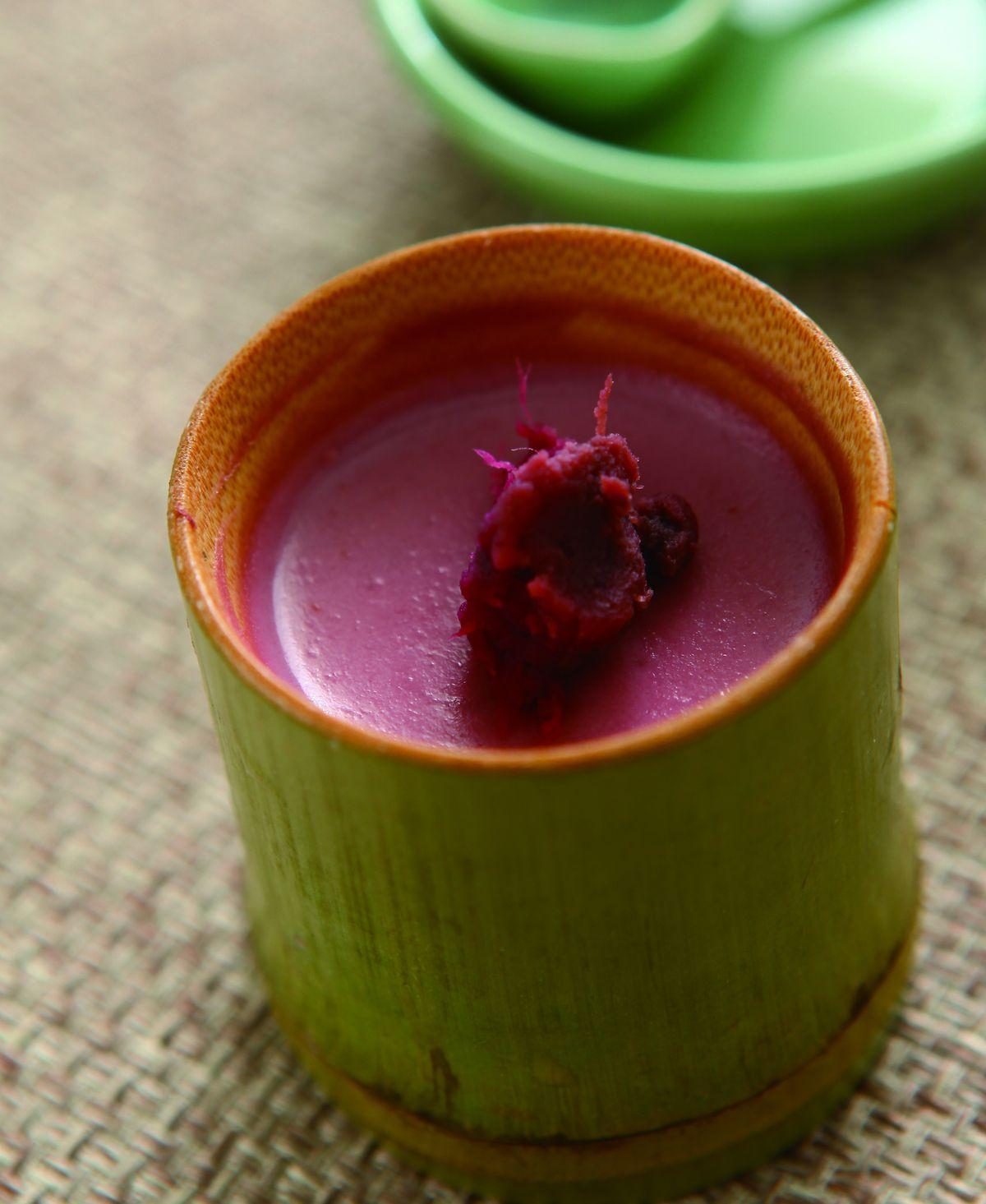 食譜:紫地瓜奶酪
