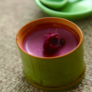紫地瓜奶酪