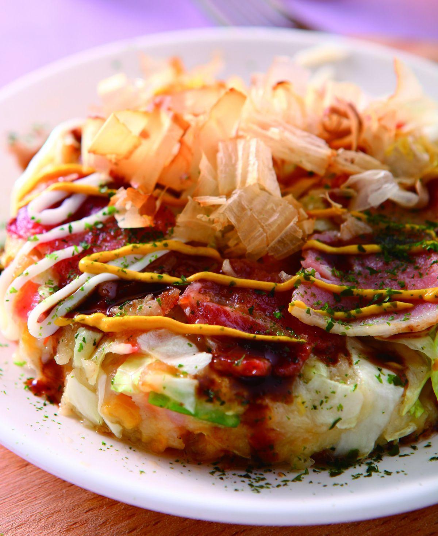 食譜:日式什錦煎餅