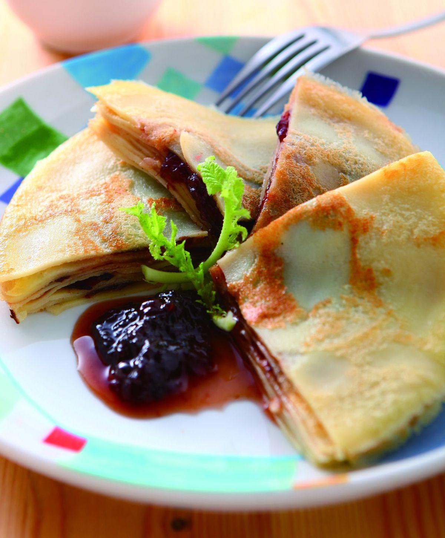 食譜:果醬煎餅
