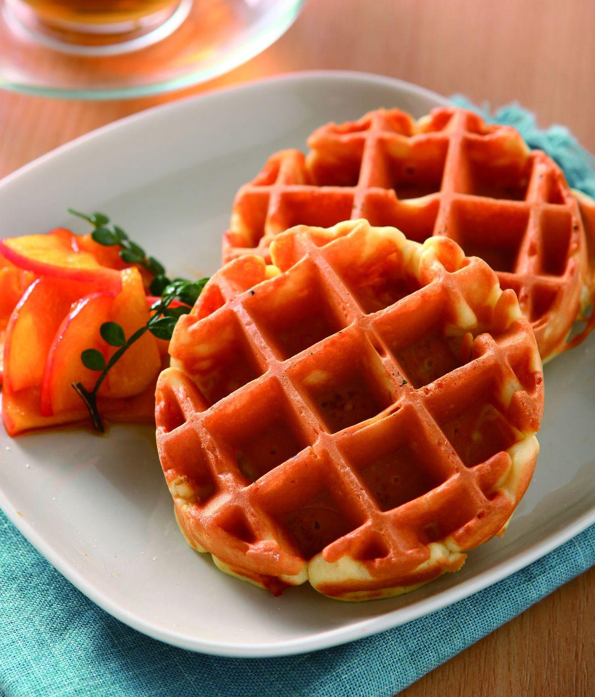 食譜:焦糖蘋果鬆餅