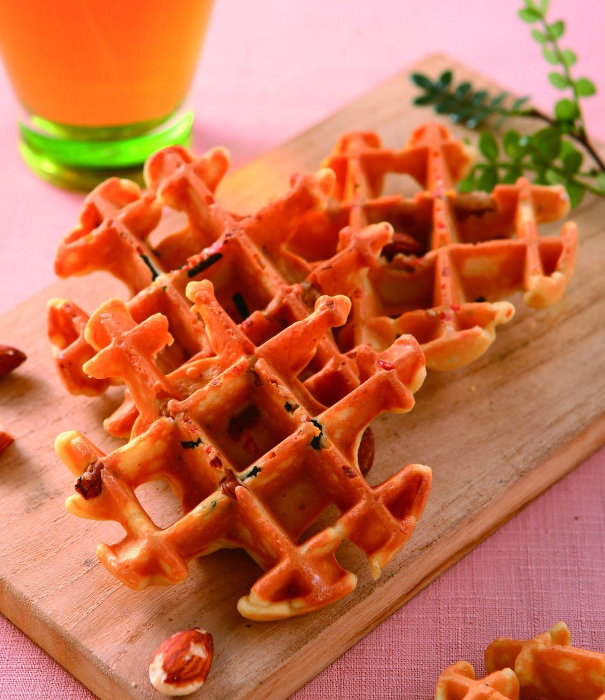 食譜:醬油風味鬆餅