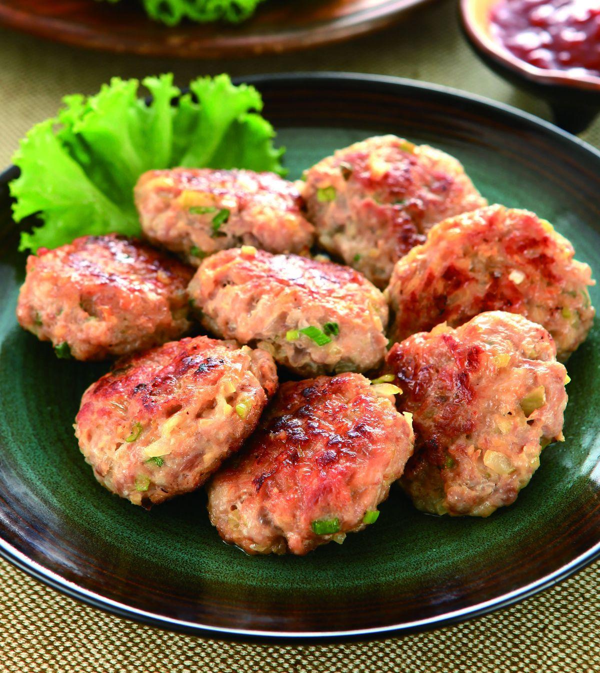 食譜:洋蔥煎肉餅