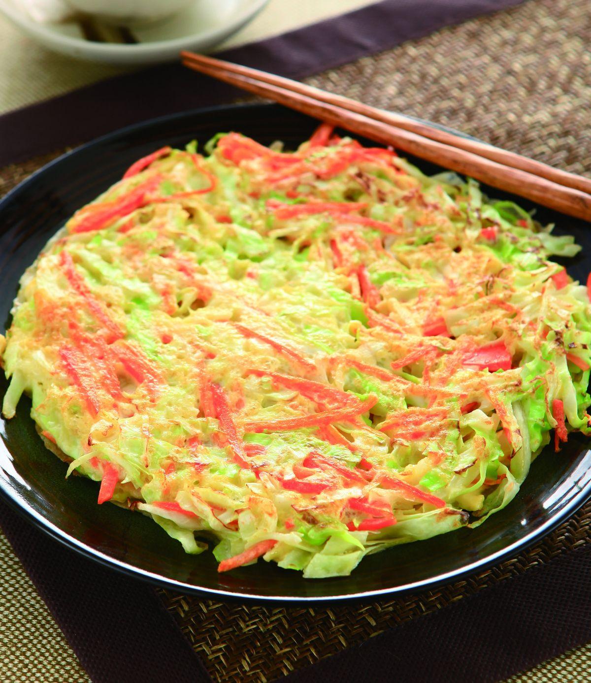 食譜:蔬菜蛋餅(3)
