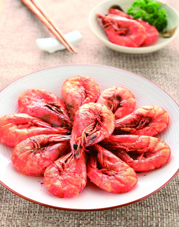 食譜:海鹽烤蝦(1)