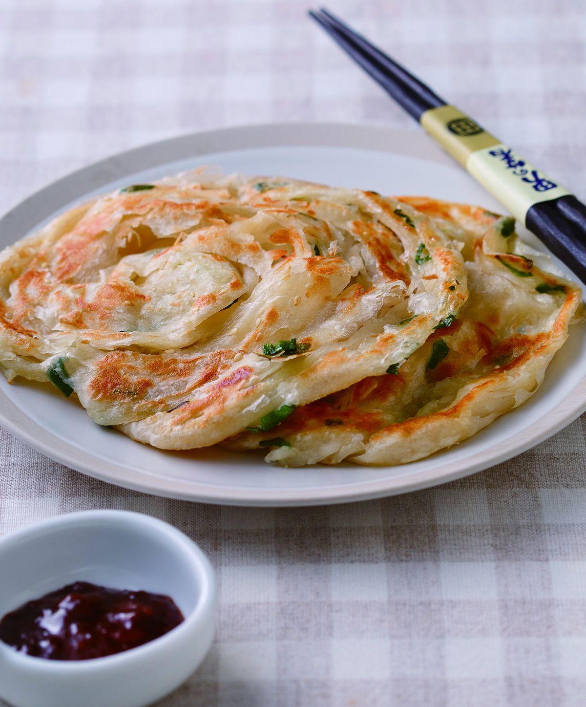食譜:蔥抓餅(5)