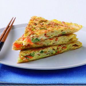 蔬菜大蛋餅(1)