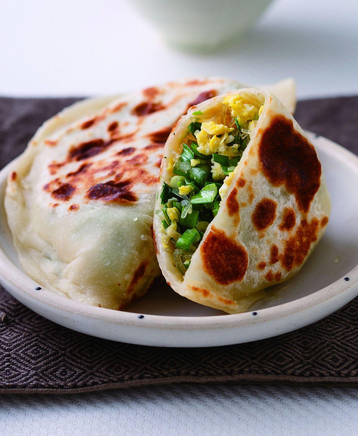 食譜:韭菜盒子(4)