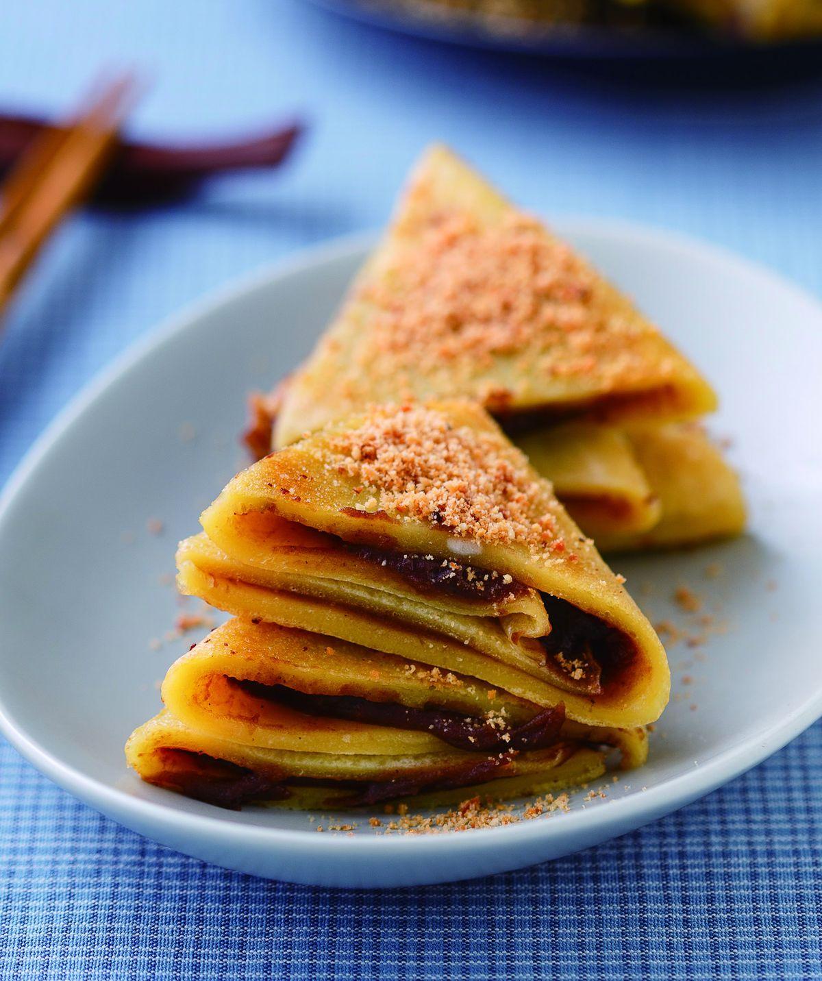 食譜:豆沙鍋餅(3)
