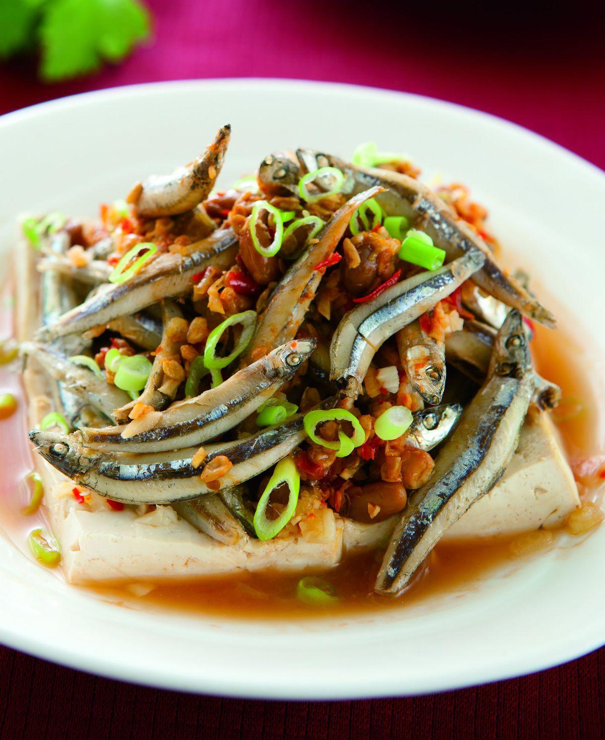 食譜:黃豆醬蒸丁香魚
