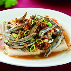 黃豆醬蒸丁香魚