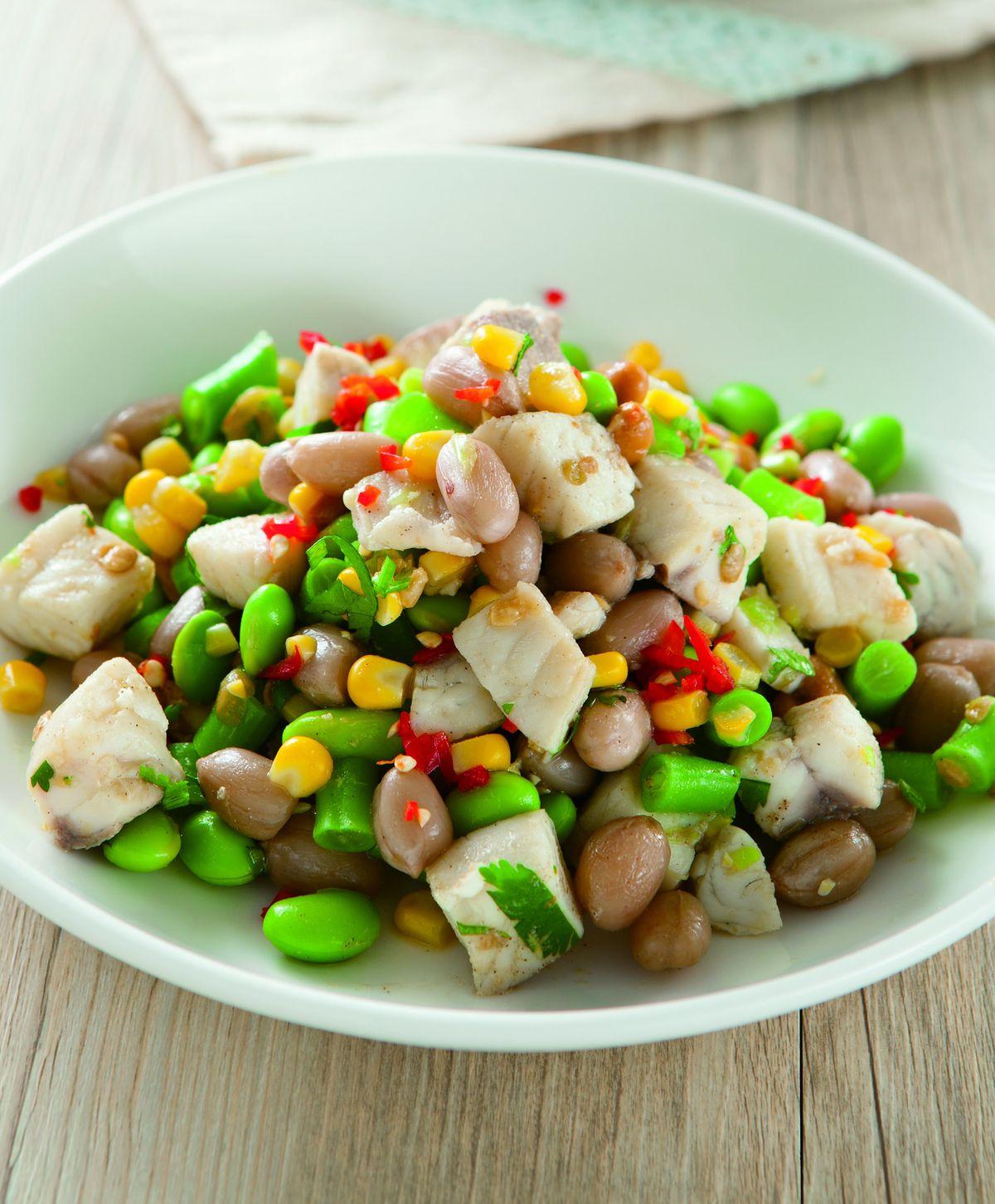 食譜:三豆魚丁