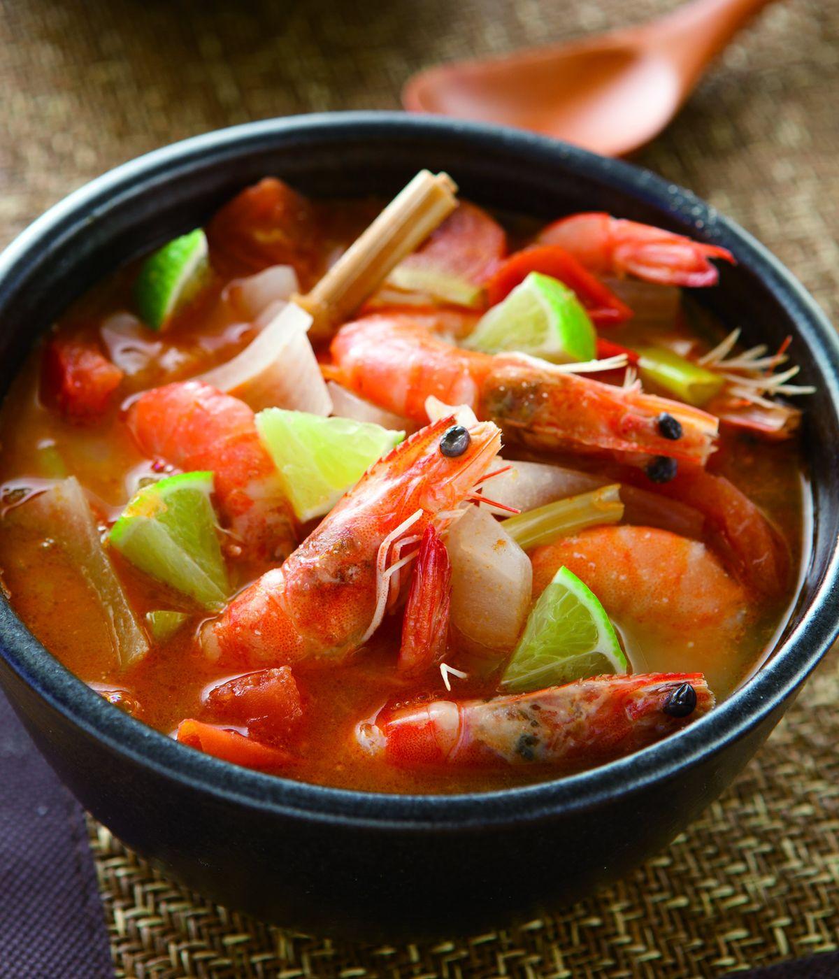 食譜:椰汁燴煮蝦
