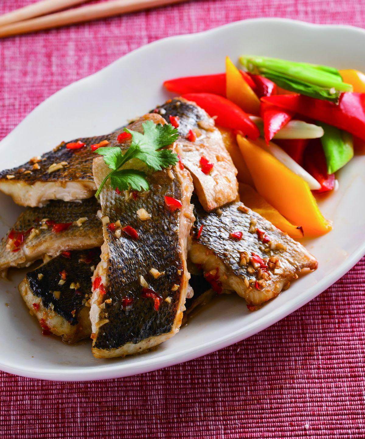 食譜:蒜味烤魚