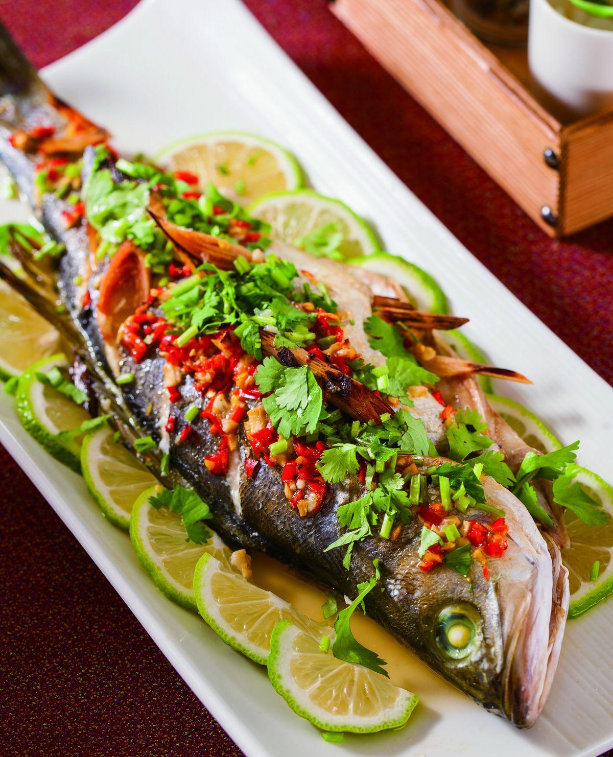 食譜:泰式烤檸檬魚