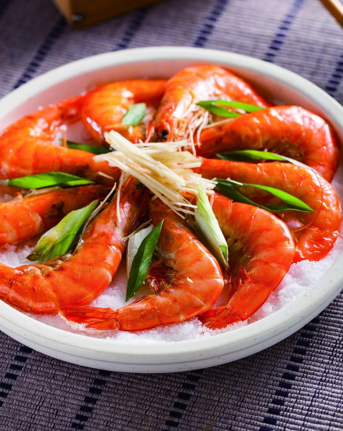 食譜:鹽焗蝦