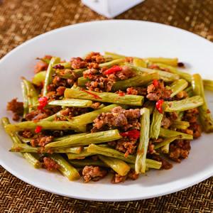 乾煸四季豆(10)