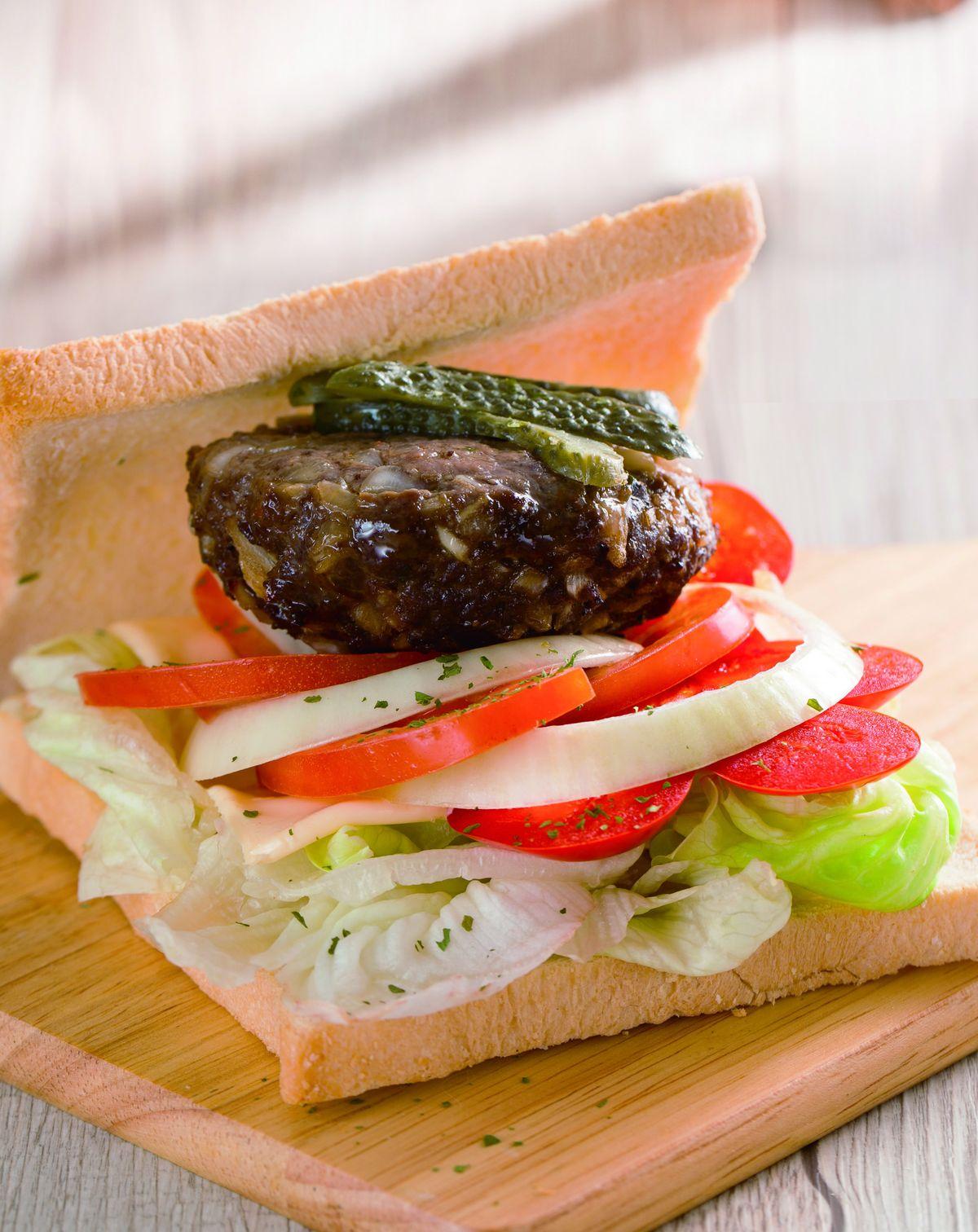 食譜:烤牛肉三明治