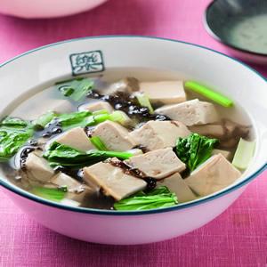 菠菜豆腐清湯