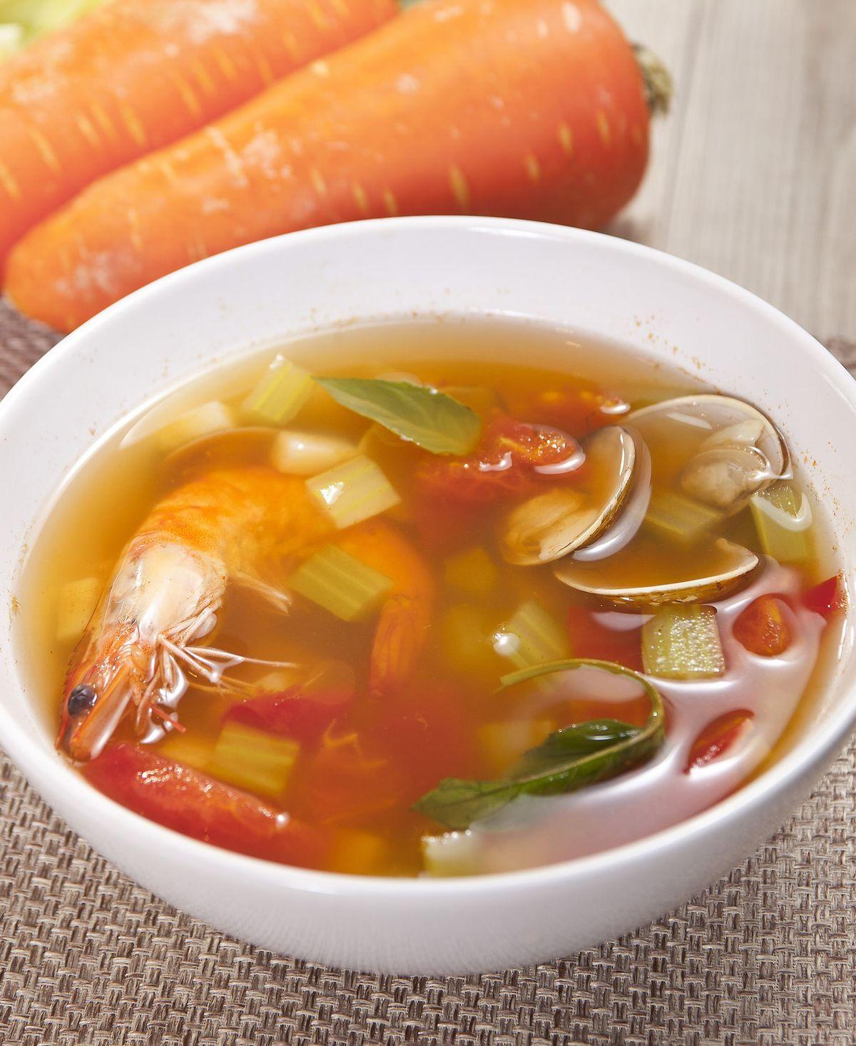 食譜:匈牙利紅椒海鮮蔬菜湯