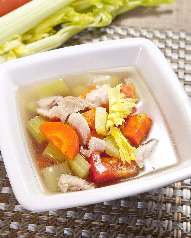 食譜:鮮蔬牛肉清湯