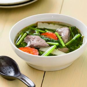 空心菜豬肝湯