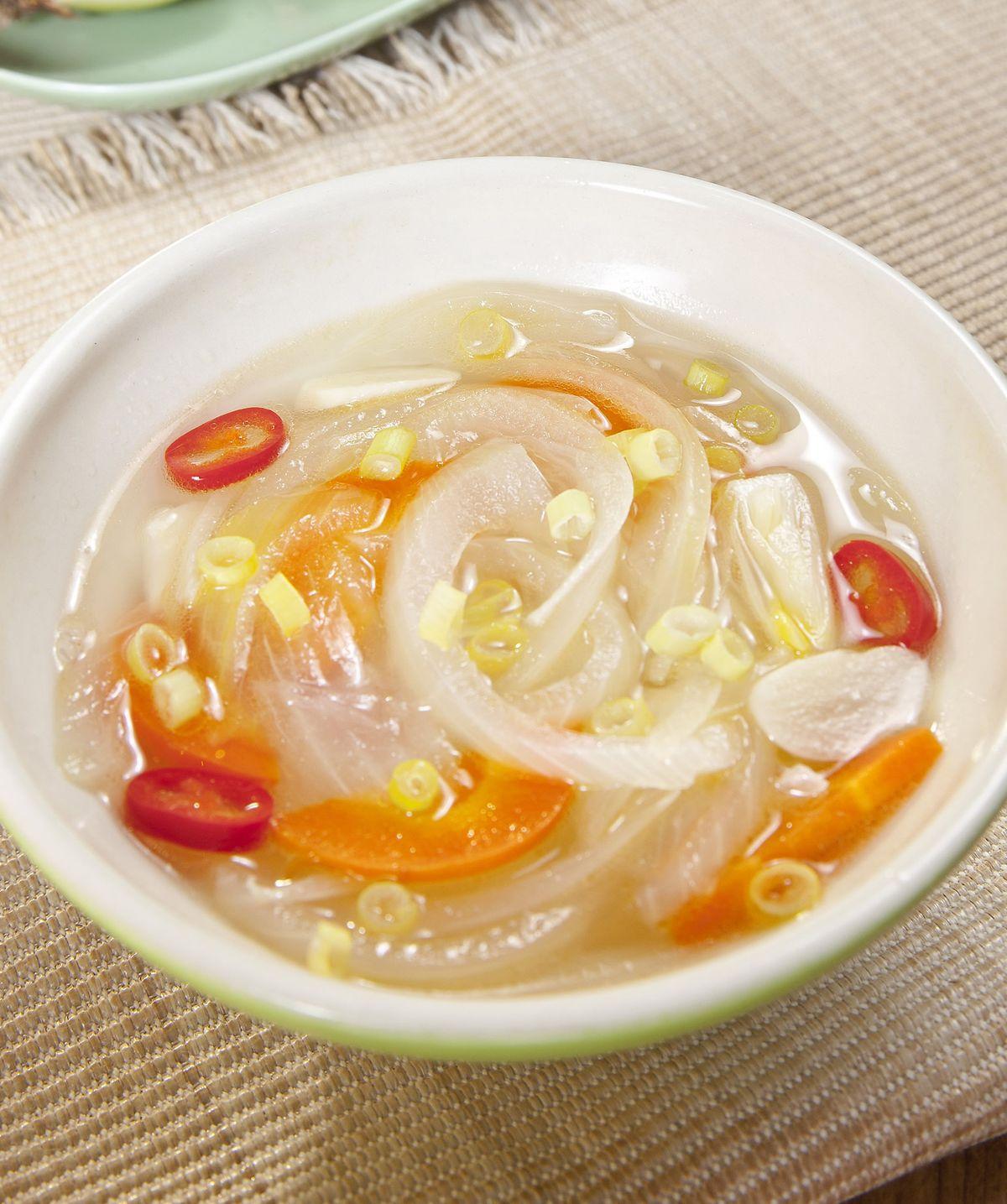 食譜:洋蔥清湯