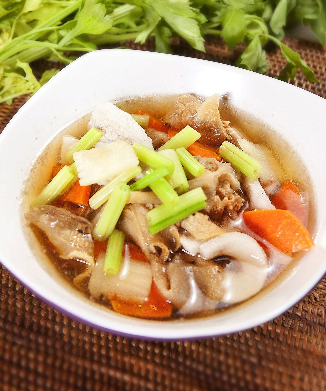 食譜:蘿蔔錢肉片湯
