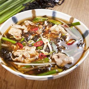 韓式芽菜肉片清湯