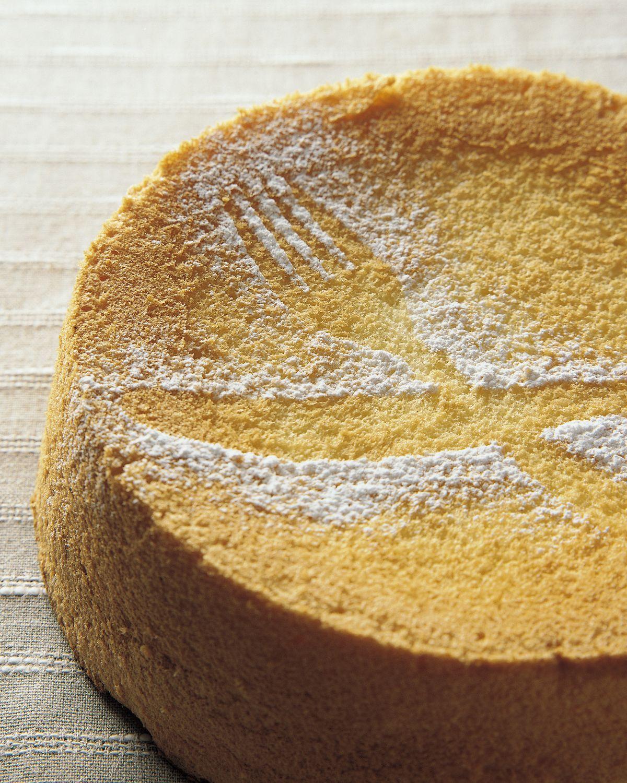 食譜:香橙戚風蛋糕